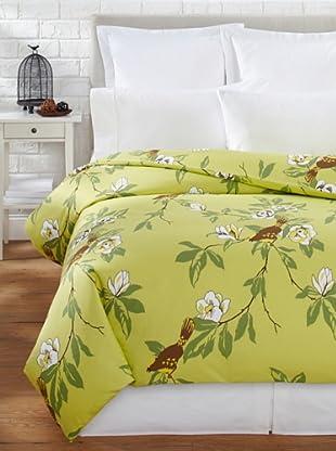 Elsie Green Happy Bird Duvet (Green)