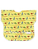 Bumkins Waterproof Junior Bib, Seuss Yellow Fish (1-3 Years)