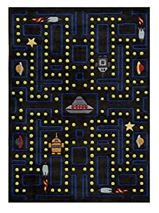 Lil Mo Space Games Rug (Arcade Black)