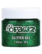 Opawz Pet Color Glitter Gel (Green)