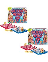 (Set Of 2) Guess Who Original Art Design Family Board Game 2 Players Ages 6+