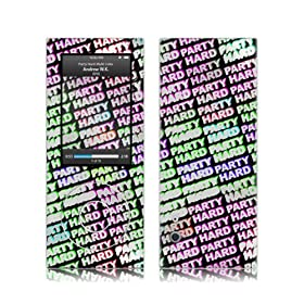 Music Skins iPod nano 5th(5)ptB  Andrew WK - Party Hard Multi Color  iPod nano 5th(5)   MSRKIPN50426