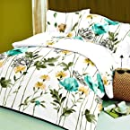 Blue Life is Beautiful Double Bedsheet with 2 Pillow Covers