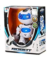 RIANZ Remote Control Electric Musical and Dancing Intelligent Robot with 3D Lights and amazing sounds for Kids