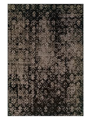 Granville Rugs Vintage Rug (Grey/Black/Brown)