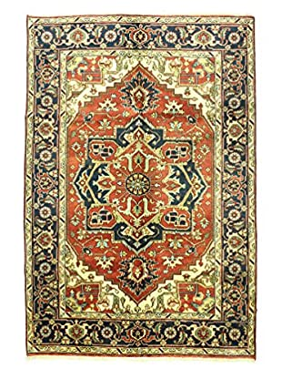 Bashian One-of-a-Kind Indo-Heriz Rug, Rust, 6' x 8' 10