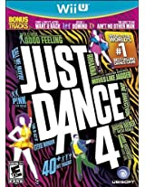 Just Dance 4 Nintendo Wii U Platform For Display: Nintendo Wii U Model: 18720 (Electronics Consumer Store)