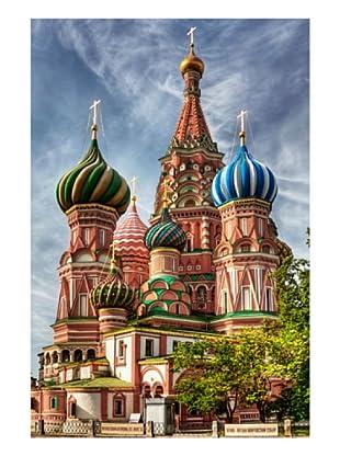LegendArte Leinwandbild Cattedrale moscovita