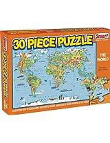Smart 30 Piece Puzzle - The World