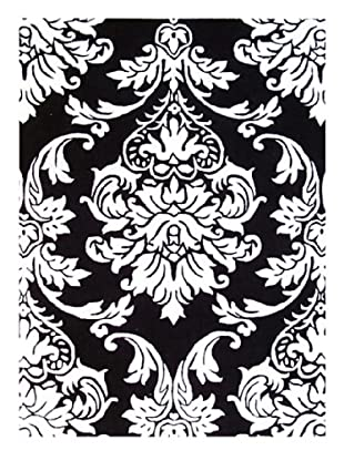 Horizon New Casanova Ornate Rug (Ivory/Black)