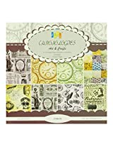 Assorted 6 by 6 Paper Pack - Chronology (Set of 30 sheets)