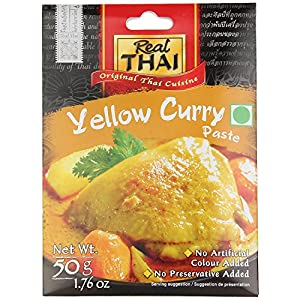 Real Thai Yellow Curry Paste, 50g