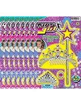 Ja-Ru Glitter Girl Princess Set Party Favor Bundle Pack