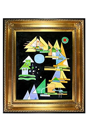 Kandinsky: Spitzen in Bogen (Points in the Elbow)