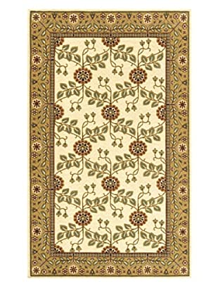 Momeni Art Nouveau Collection Rug (Ivory)