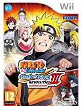 Naruto Shippuden - Clash of Ninja Revolution 3 (Nintendo Wii) (NTSC)