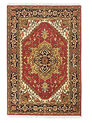 Hand-Knotted Serapi Heritage Rug, Copper, 4' x 6'