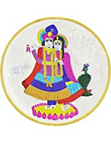 LGW Goddess Radha Lord Krishna Silver Precious Coin for Unisex (50Grams)