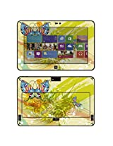 Decalrus - Matte Protective Decal Skin skins Sticker for Dell Latitude 10 Tablet with 10.1 screen (IMPORTANT: Must view IDENTIFY image for correct model) case cover Latitude10-154