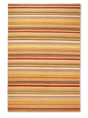 Flatweave Sunset Stripe, 6' x 9'