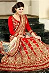 Silk Designer Lehenga Choli In Red colour 4001