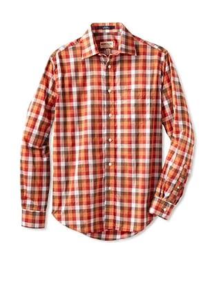 Mason's Men's Long Sleeve Shirt (Pumpkin)