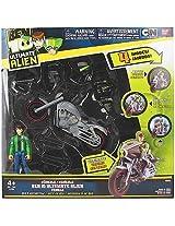 Ben 10 Ben With Motorcycle