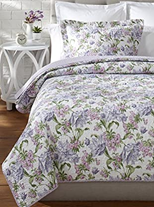 Laura Ashley Arundel Quilt Set (Apricot)