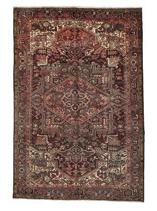 Rug Republic One Of A Kind Persian Heriz-Vintage Rug, Rust/Red/Brown/Ivory/Multi, 8' x 11' 1