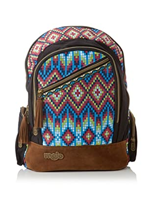 Mojo Mohawk Backpack, Red/Yellow/Blue
