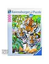 Ravensburger Puzzles Tiger Family, Multi Color (1000 Pieces)