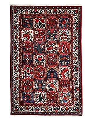 Darya Rugs Persian One-of-a-Kind Rug, Red, 4' 6
