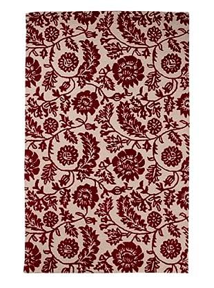 Meva Dahlia Rug (Red)