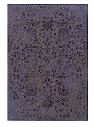 Granville Rugs Vintage Rug (Purple/Grey/Black/Brown)