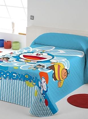 Euromoda Colcha Bouti Doraemon Volador (Azul)