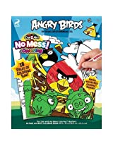 Angry Birds No Mess 18 Pg Coloring Pad by crazy art