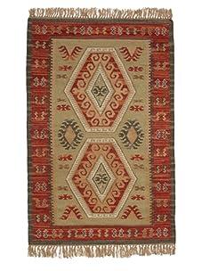 Classic Home Marrakesh Wool Kilim Rug (Multi)
