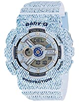 Casio Baby-G Analog-Digital Blue Dial Women's Watch - BA-110DC-2A3DR(BX050)
