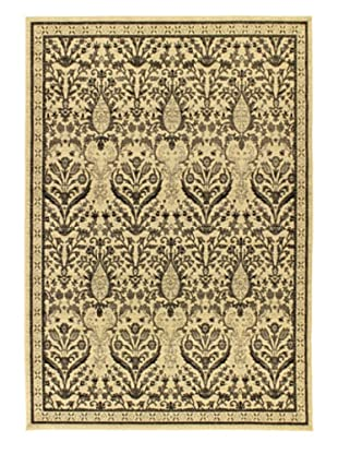 Classic Jardin Traditional Rug (Beige)
