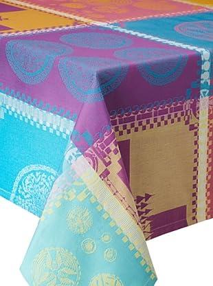 Garnier-Thiebaut Mille Batik Tablecloth (Vibrant)