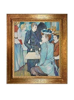 Toulouse Lautrec: Corner in the Moulin de la Galette, 1892