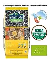 Nimble Organics Urad Dal Split (With Skin) 500g