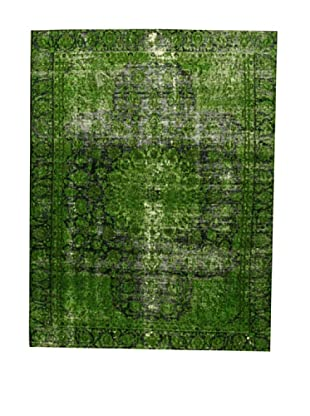 Design Community by Loomier Alfombra Revive Vintage Verde 252 x 331 cm