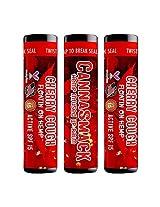 Canna Smack Cherry Cough Spf 15 Hemp Lip Balm Set Of 3 Cherry Flavor
