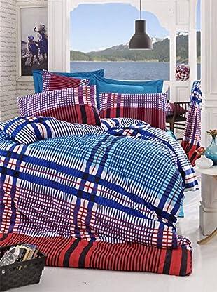 Colors Couture Bettdecke und Kissenbezug Ekosa