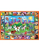 White Mountain Puzzles Central Bark 24 Piece Jigsaw Puzzle By White Mountain Puzzles