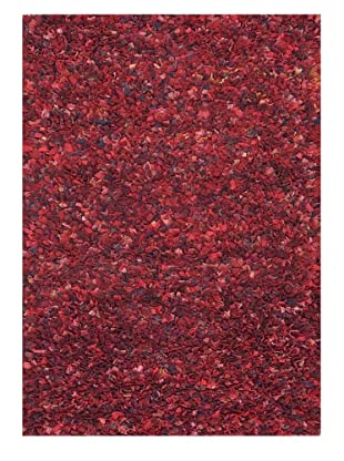 Loloi Rugs Hugo Recycled Sweater Wool Rug (Red)