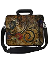 "Designer Sleeves 17"" Vintage Fleur Executive Laptop Case"
