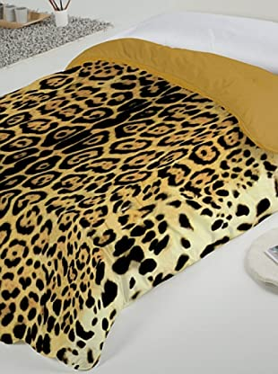 National Geographic Duvet Jaguar (Marrón)