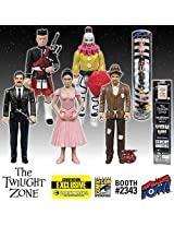 Twilight Zone Five Characters 3 3/4 Inch Figures Con. Excl.